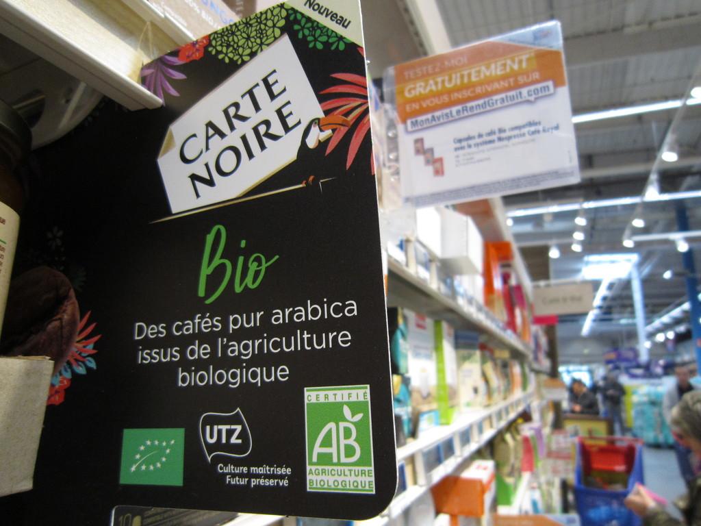 Stop rayon Carte noire